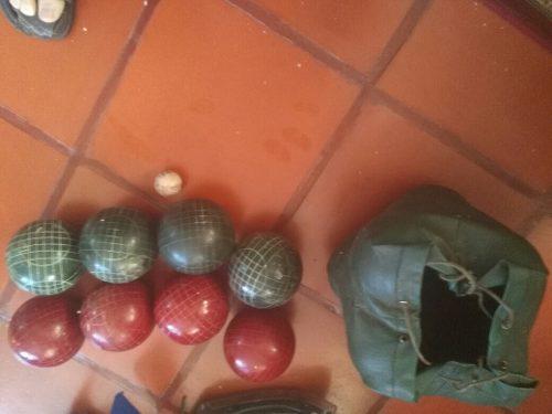 Juego de bolas criollas italianas