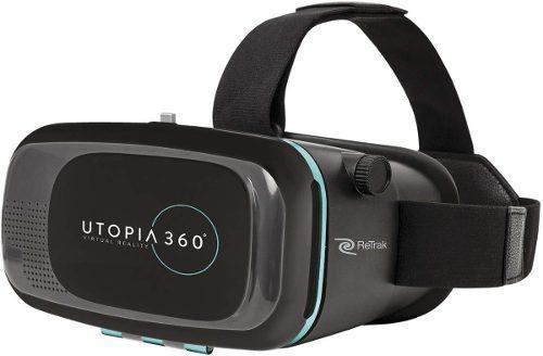 Lente realidad virtual 360 con auriculares