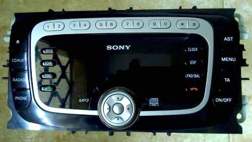 Reproductor sony original para ford focus 2009