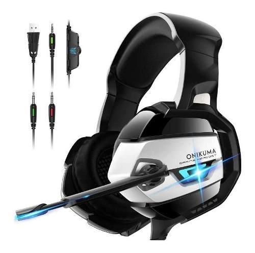 Audifonos Gamer Ps4, Xbox, Switch, Pc Onikuma