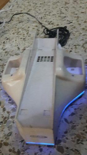 Base Fan Cooler Enfriador Cargador De Baterías Nintendo Wii