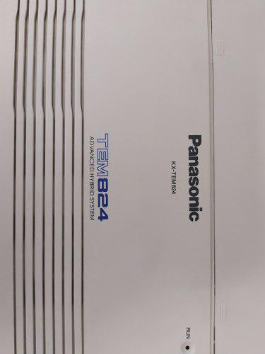 Central Panasonic Tem-824 Con 16 Extensiones