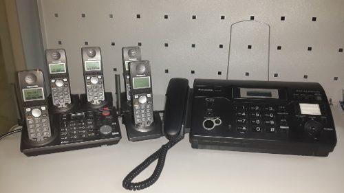 Central telefónica panasonic 4 extensiones modelo kx-tg6700