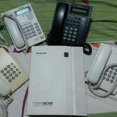 Central telefónica panasonic tea308