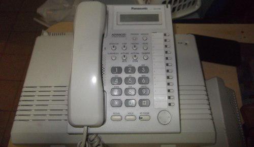 Central telefonica panasonic tem 824 // 250 verdes