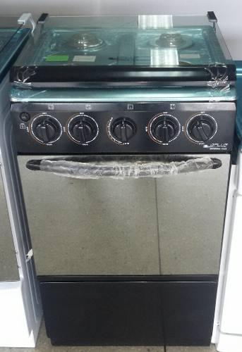 Cocina a gas de 4 hornillas con horno general plus