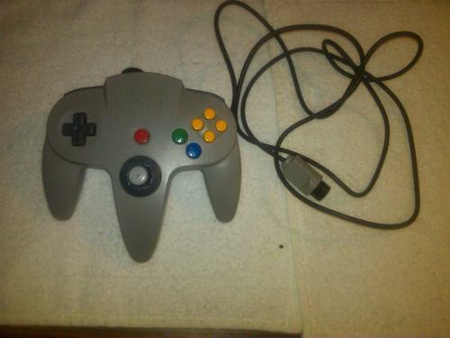 Control Y Juegos De Nintendo 64