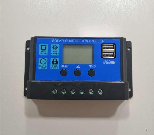 Controlador de carga solar regulador pwm 60amp