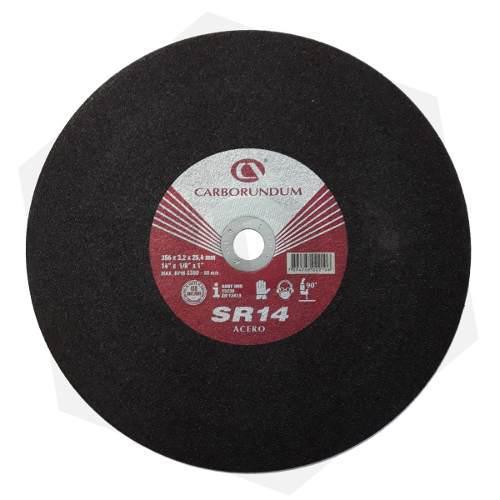 Disco de corte tronzadora 14'' x 3/32'' mejora a dewalt
