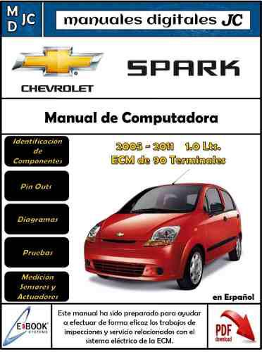 Manual taller diagramas ecm electrico motor chevrolet spark