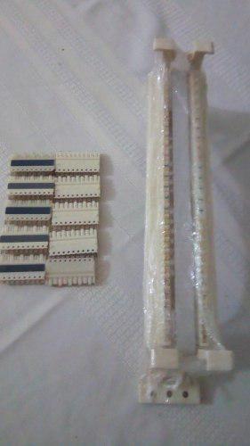 Regleta Telefonica De 50 Pares Tipo 110 Con Galletas C4 Y C5