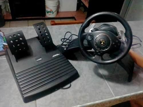 Volante De Pc/ps3/ps2 Barato, En Exelente Estado !