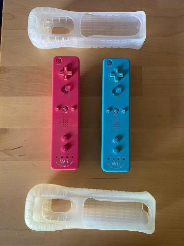 Wii / Wii U Control Perfecto Estado Rosa O Azul(10c/u)