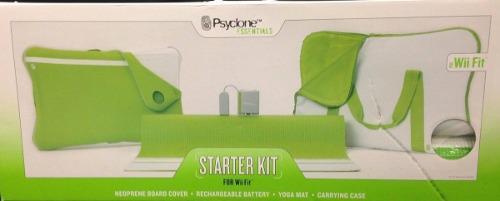 Yoga estera psyclone essentials starter kit for wii fit