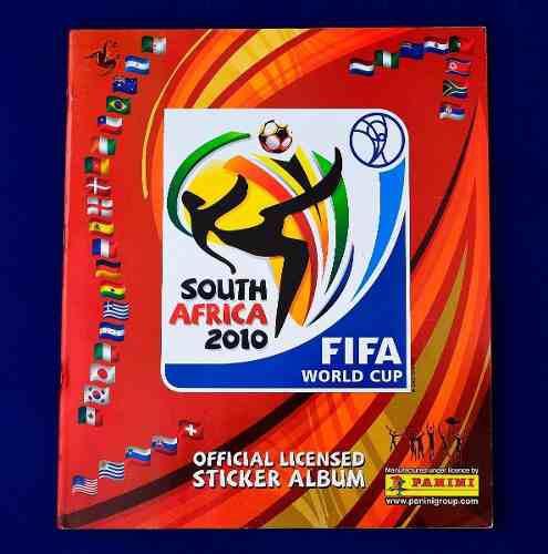 Album mundial africa 2010 panini (lleno)