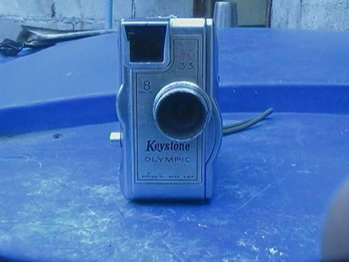 Camara de video vintage keystone olimpic 33k