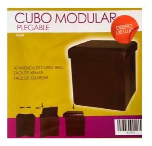 Cubo modular plegable