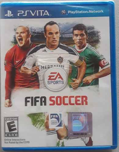 Fifa Soccer Para Psp Vita Nuevo A Estrenar