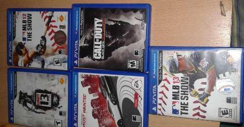 Juegos Ps Vita 3 Y Tarjeta Sony 15 C/u