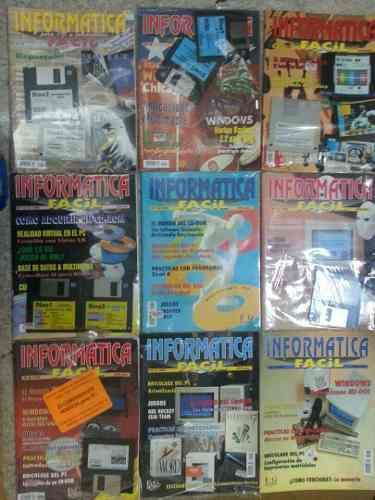 9 revistas de computacion todas, curso computacion