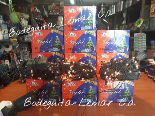 Luces de navidad arrocito 100 bombillos 5 mt ofertaa