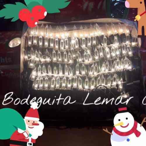 Luces navideñas tradicionales de colores y amarillas 5 mt
