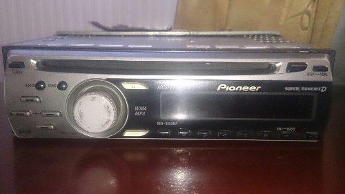 Reproductor para carros pioneer usado cd/mp3 entrada rca