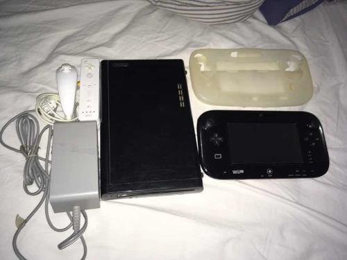 Wii u deluxe con accesorios