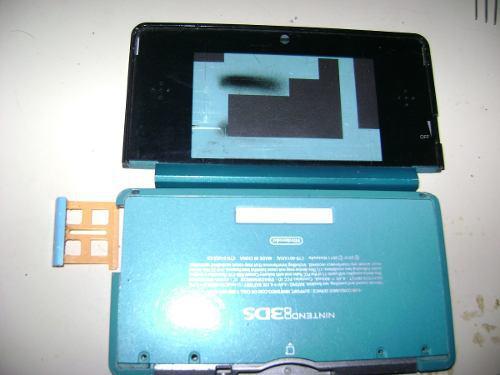 Carcasa Nintendo 3ds Azul/rojo Original (25vs)