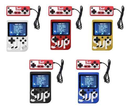 Consola retro sup con mando video juegos game box