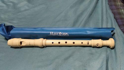 Flauta Dulce Maxtone Con Su Forro