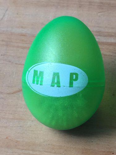 Map Maraca Eggs Original Importada Percussion Per0012v