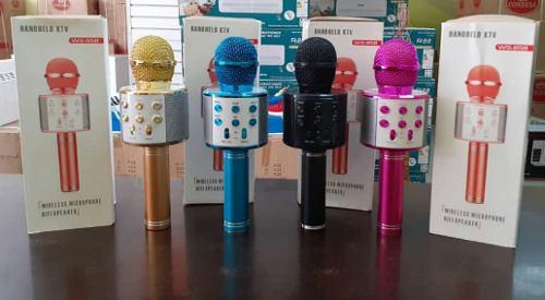 Micrófono Inalámbrico Multifuncion