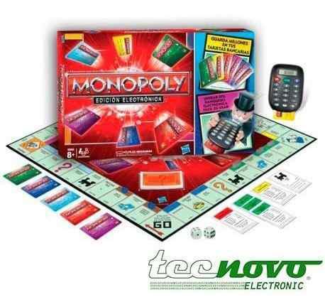 Monopolio juego mesa monopoly banco electronico hasbro origi