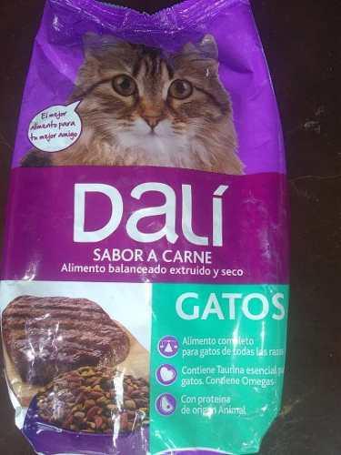Alimento concentrado para gatos dalí 5 verdes
