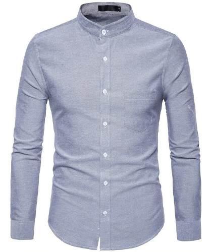 Camisa caballero slimfit oxford 100% algodon