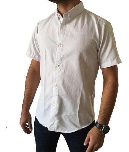 Camisas caballeros manga corta talla m de moda