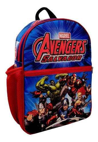 Morrales Escolares Bolsos Batman Superman Avengers Spiderman