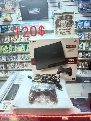 Playstation 3 slim 160gb '20 juegos.