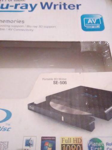 Quemadora blu ray externa bluray samsung se-506 poco uso