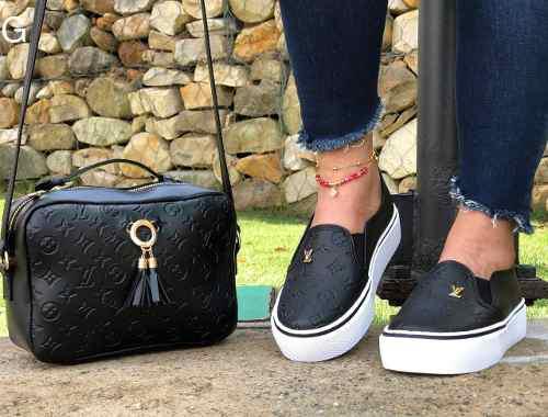Zapatos Louis Vuitton + Bolso Al Mayor