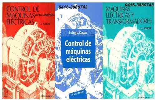 3 libros-pdf- de maquinas eléctricas y transformadores