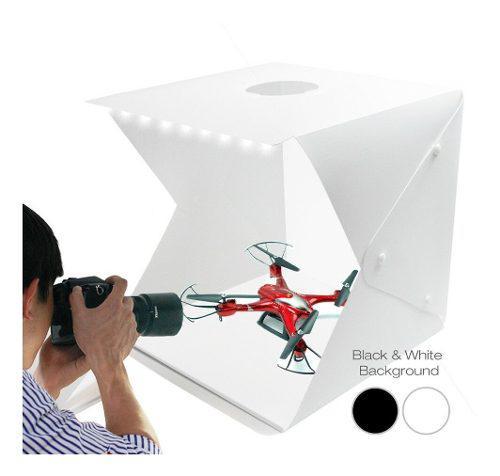 Caja fotográfica o estudio portátil para celulares y joyas