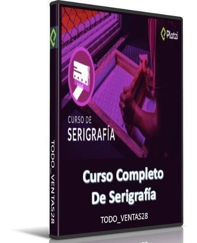 Curso completo de serigrafía