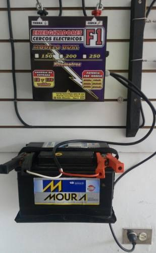 Impulsor o energizador para cerca electrica ganadera