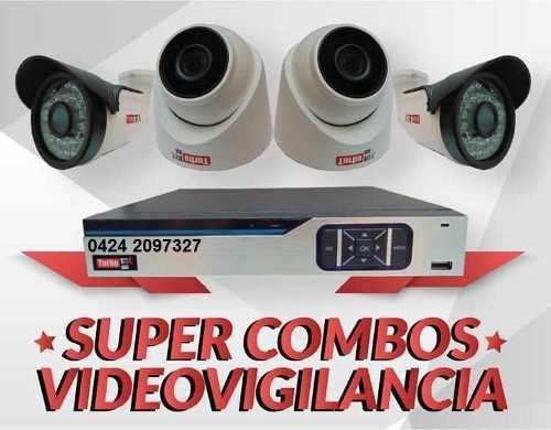 Kit vigilancia hikvision dvr 16 camaras cable accesorios