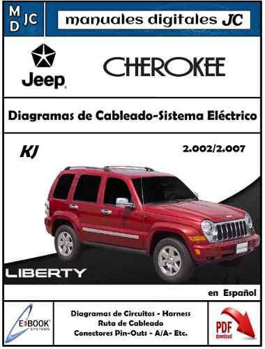Manual diagramas eléctrico jeep cherokee liberty 2002-2007