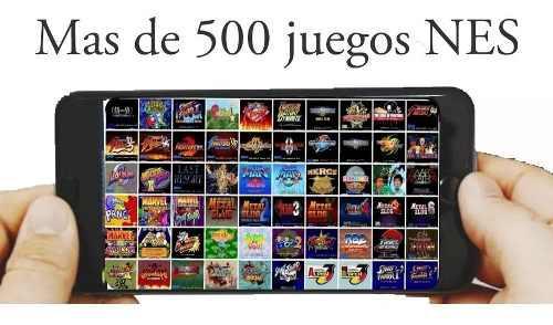 Mas de 500 juegos nes para tu celular