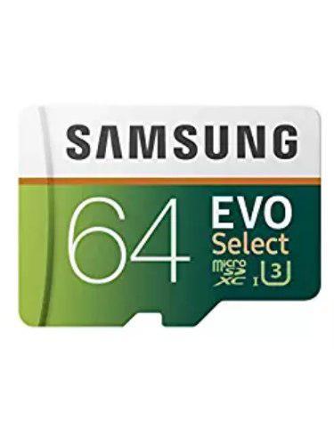 Micro sd samsung 64gb clase 10 4k