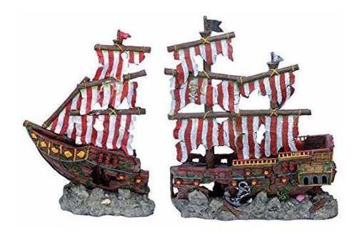 Penn plax adorno pecera barco xlarge 68x23x50 cms